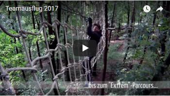 Teamausflug 2017 im Kletterwald