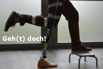 Geh(t) doch. Workshop für Physiotherapeuten.